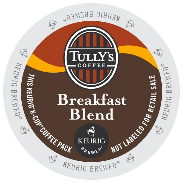 Tully S Coffee Breakfast Blend K Cups 24ct